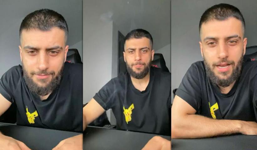 Yusuf Aktaş aka Reynmen's Instagram Live Stream from May 23th 2020.