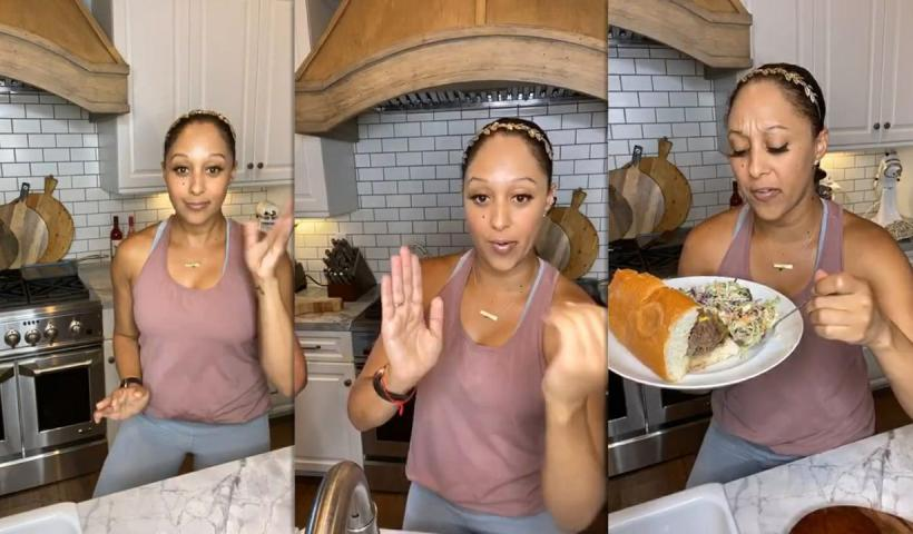 Tamera Mowry's Instagram Live Stream from May 22th 2020.