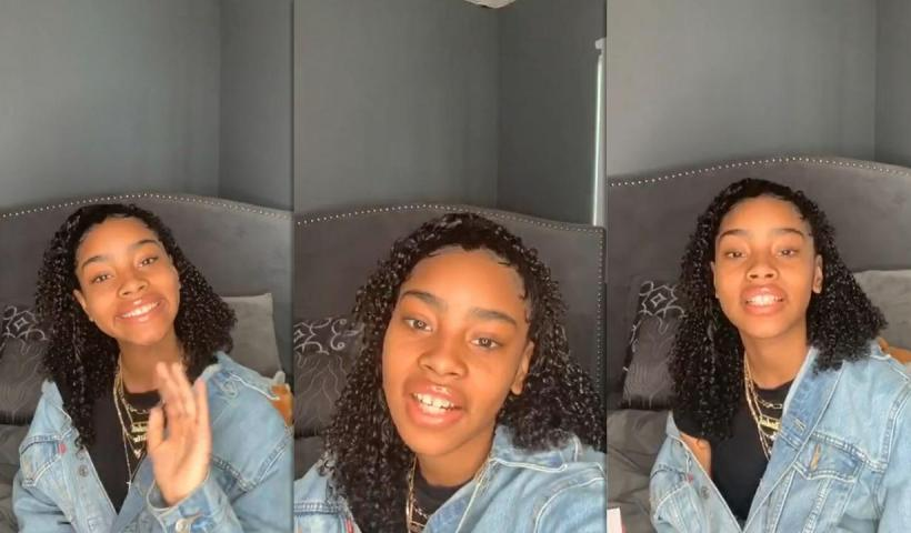 Jadah Marie's Instagram Live Stream from May 9th 2020.