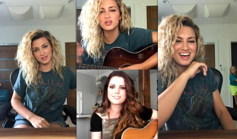 Tori Kelly's Instagram Live Stream from May 6th 2020.