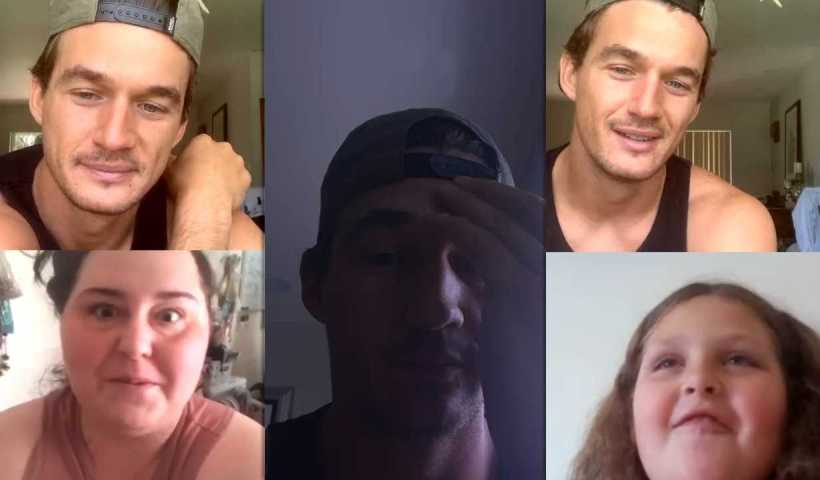 Tyler Cameron's Instagram Live Stream from May 17th 2020.