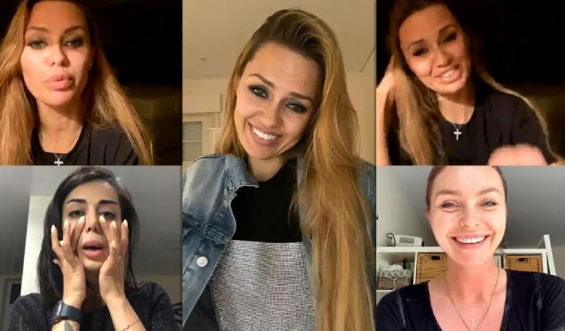 Victoria Bonya's Instagram Live Stream from May 9th 2020.