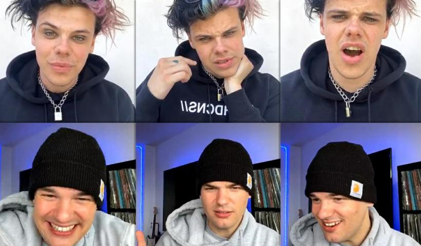 Yungblud's Instagram Live Stream from May 8th 2020.