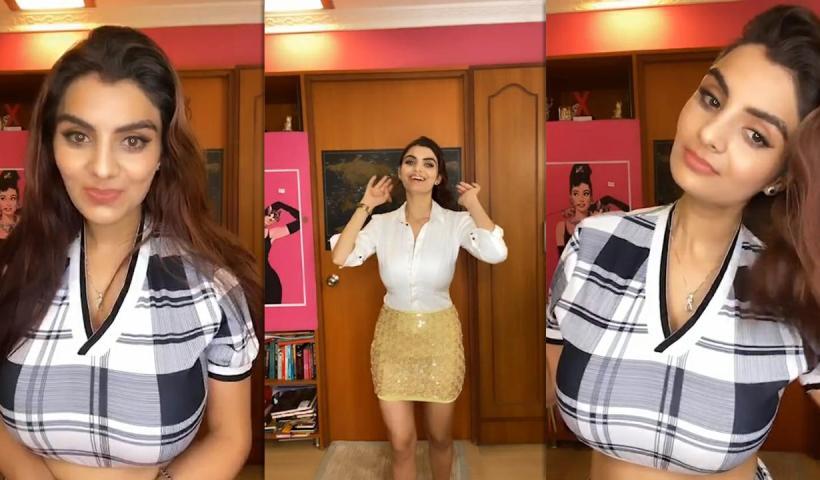 Anveshi Jain's Instagram Live Stream from June 2nd 2020.