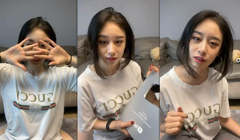 Park Ji-yeon's Instagram Live Stream from June 8th 2020.