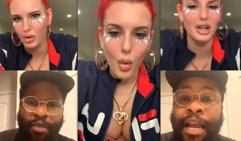 Justina Valentine's Instagram Live Stream from May 31th 2020.