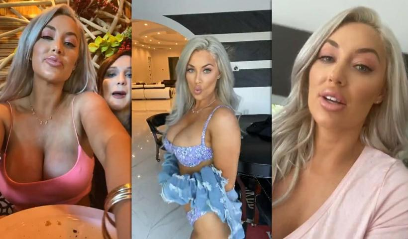 Laci Kay Somers Instagram Live Stream from June 11th 2020.
