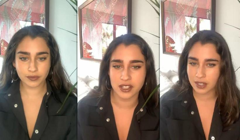 Lauren Jauregui's Instagram Live Stream from June 14th 2020.