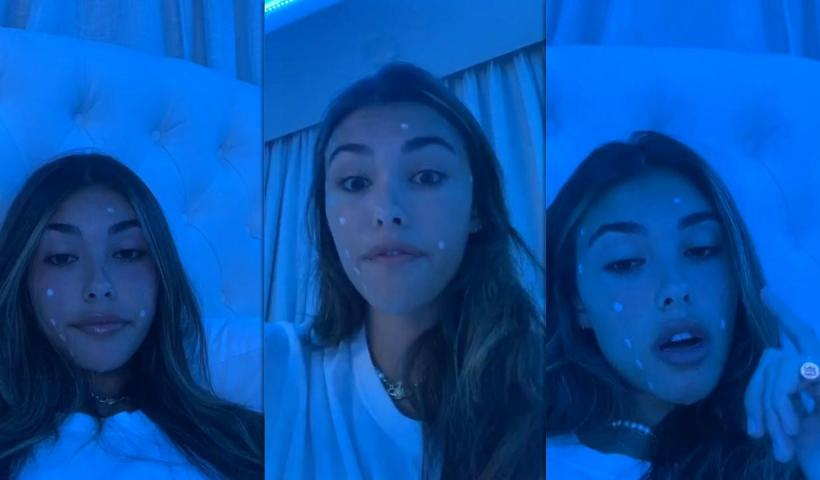Madison Beer's Instagram Live Stream from June 7th 2020.