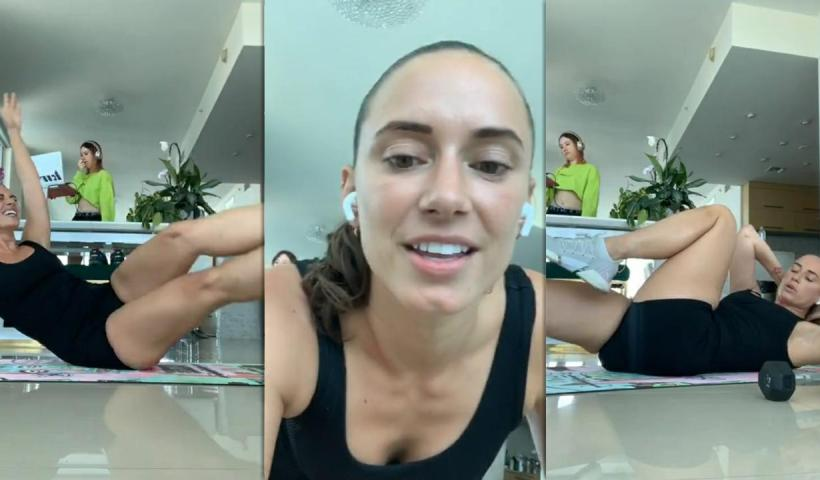 YesJulz's Instagram Live Stream from June 10th 2020.