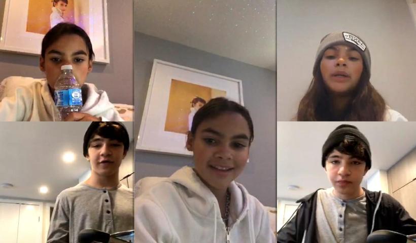 Ariana Greenblatt's Instagram Live Stream from July 27th 2020.