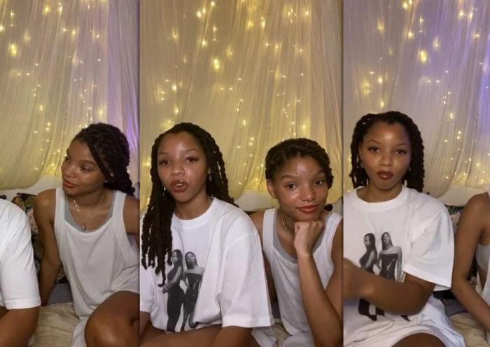 Chloe x Halle's Instagram Live Stream from July 2nd 2020.