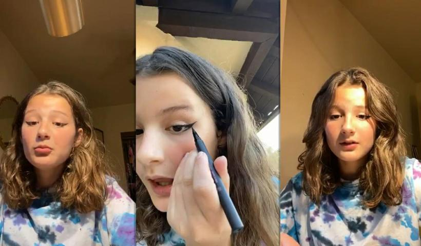 Hayley LeBlanc's Instagram Live Stream from July 9th 2020.