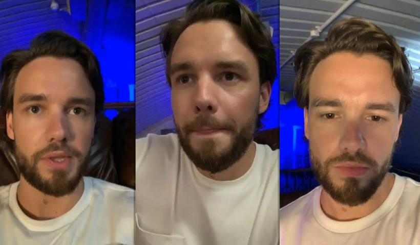 Liam Payne's Instagram Live Stream from July 17th 2020.