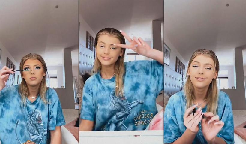 Loren Gray's Instagram Live Stream from July 15th 2020.