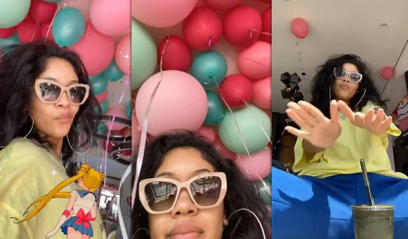 Saweetie's Instagram Live Stream from July 22th 2020.