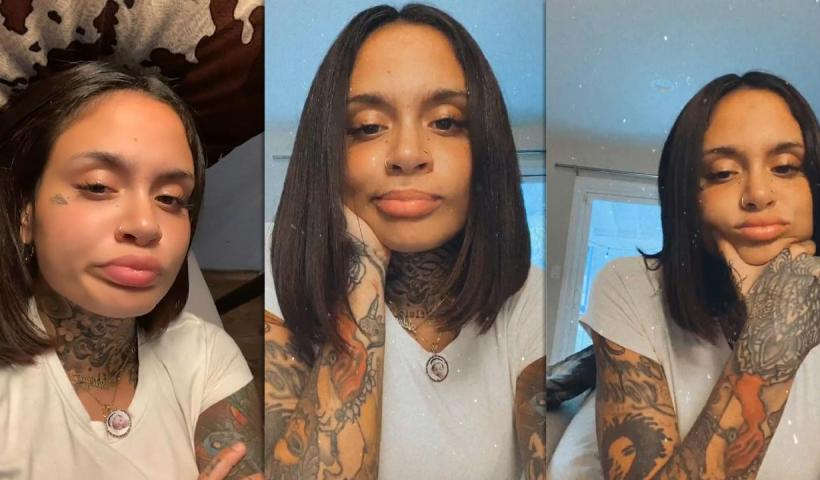 Kehlani's Instagram Live Stream from August 6th 2020.