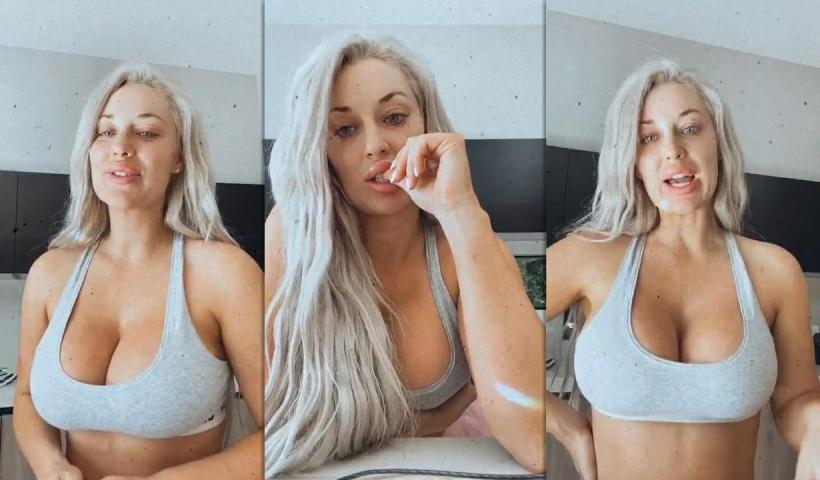 Laci Kay Somers Instagram Live Stream from August 7th 2020.