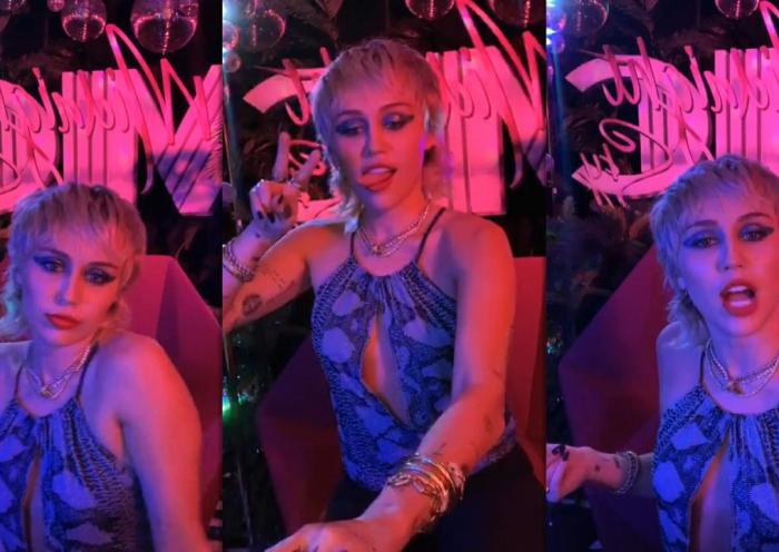 Miley Cyrus Instagram Live Stream from August 13th 2020.