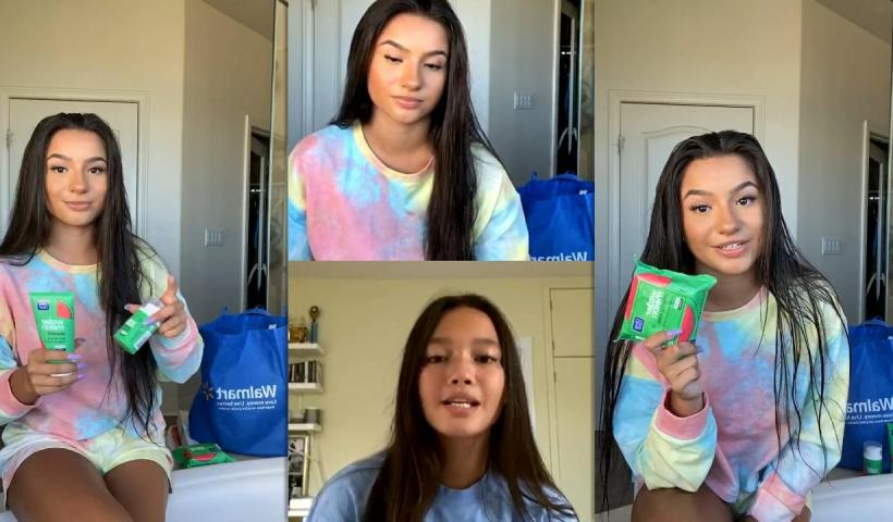 Tati McQuay's Instagram Live Stream with Lily Chee from August 9th 2020.