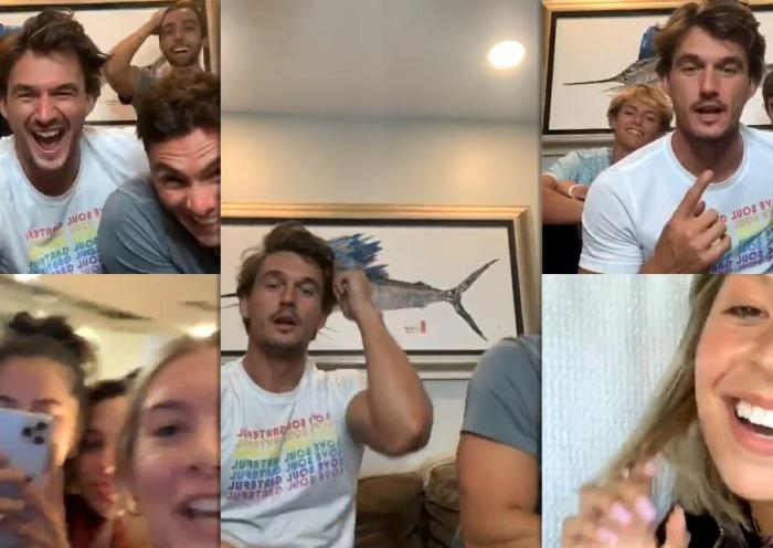 Tyler Cameron's Instagram Live Stream from August 13th 2020.