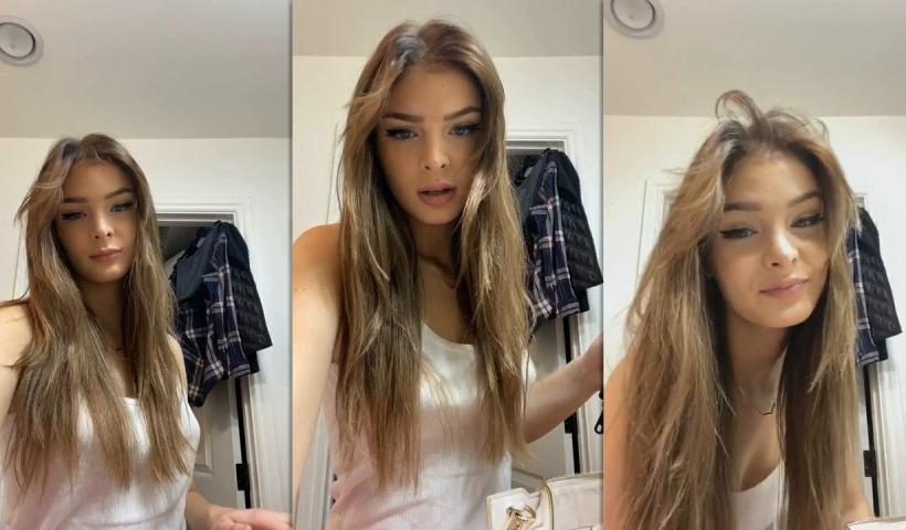 Brighton Sharbino's Instagram Live Stream from September 14th 2020.