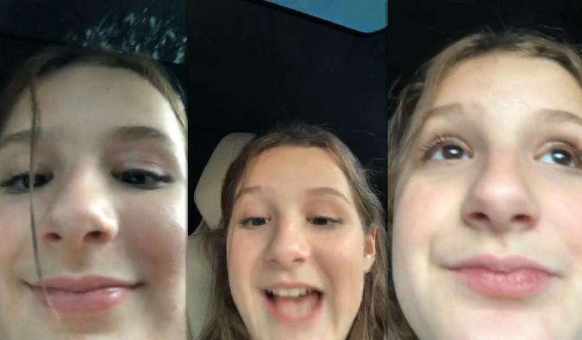 Hayley LeBlanc's Instagram Live Stream from September 4th 2020.