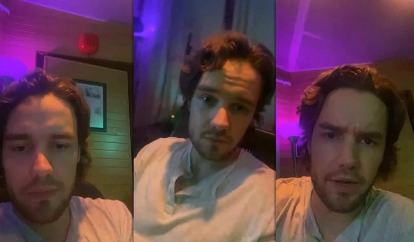 Liam Payne's Instagram Live Stream from September 24th 2020.
