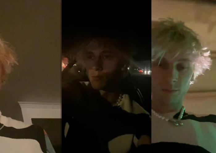 Machine Gun Kelly's Instagram Live Stream from September 30th 2020.