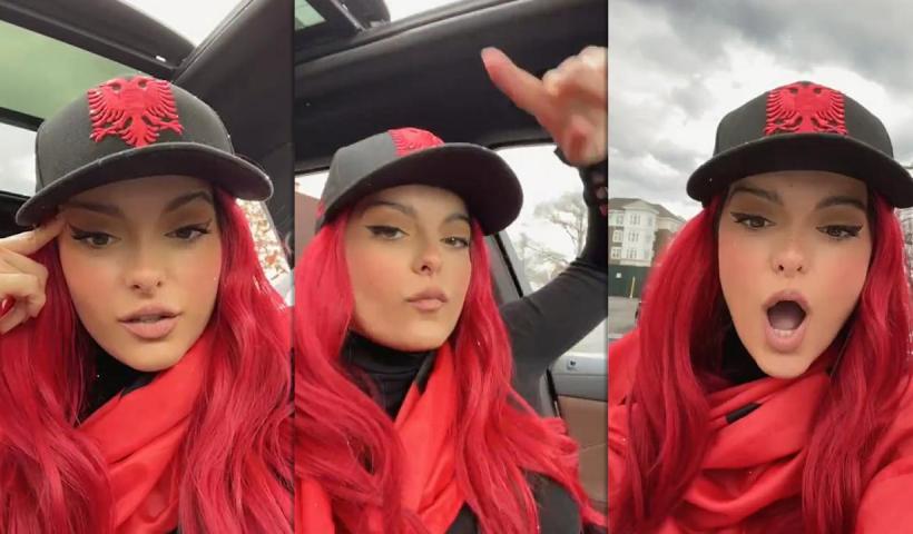 Bebe Rexha's Instagram Live Stream from November 28th 2020.