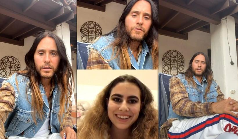 Jared Leto's Instagram Live Stream from November 20th 2020.