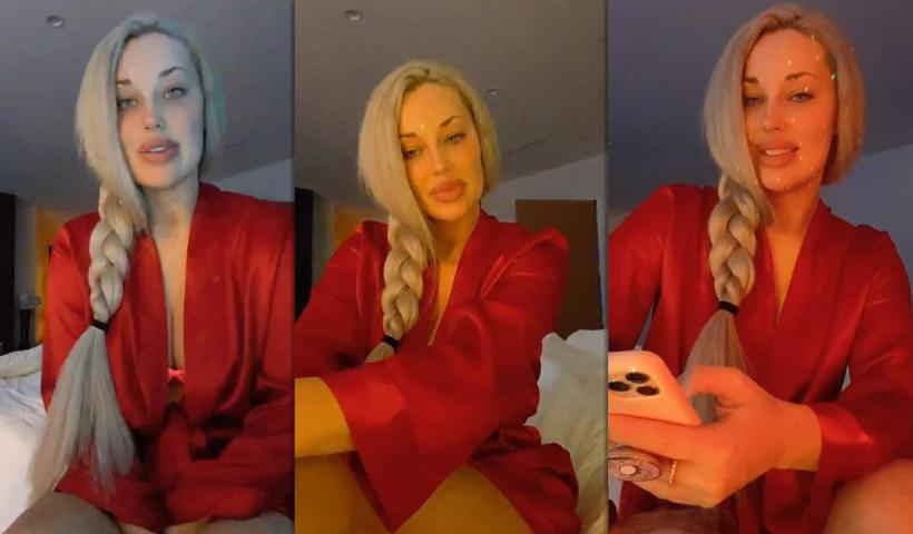 Laci Kay Somers Instagram Live Stream from November 20th 2020.