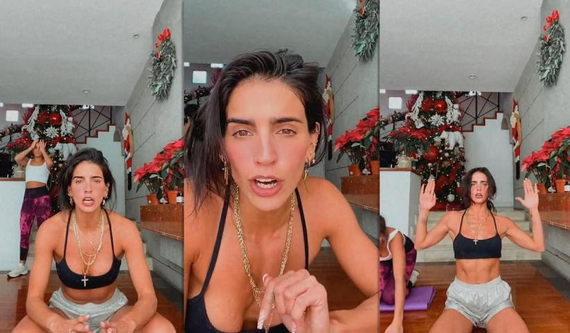 Bárbara de Regil's Instagram Live Stream from December 20th 2020.