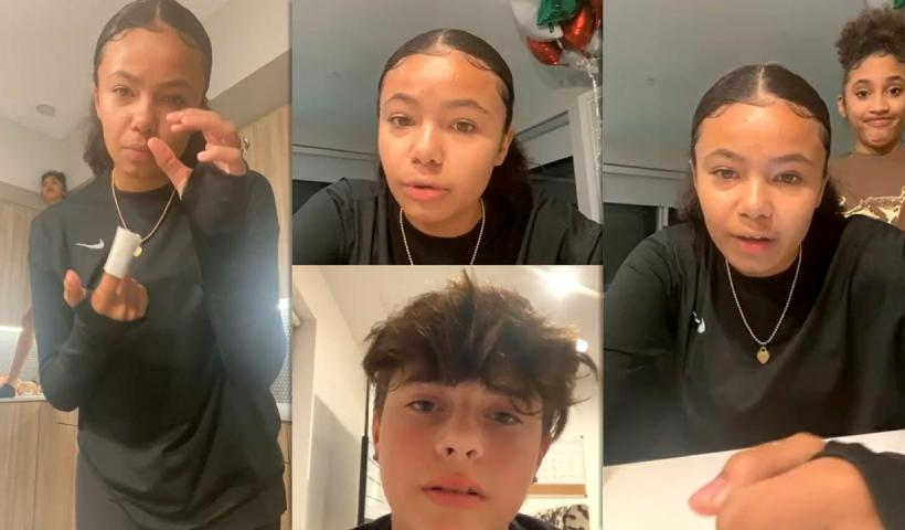Brooklyn Queen's Instagram Live Stream from December 7th 2020.