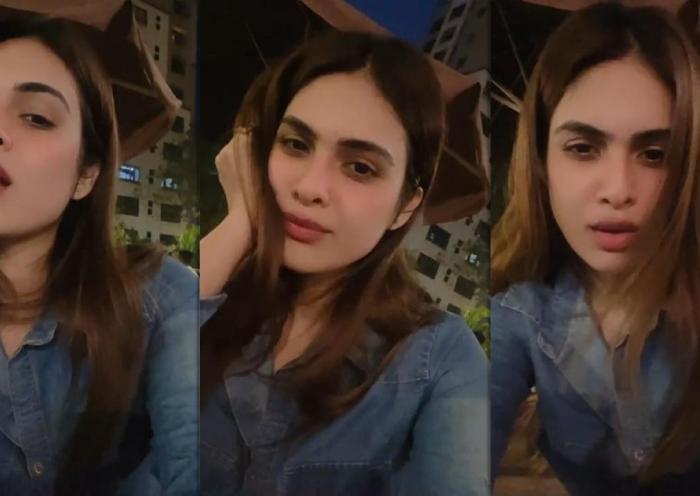Neha Malik's Instagram Live Stream from January 25th 2021.