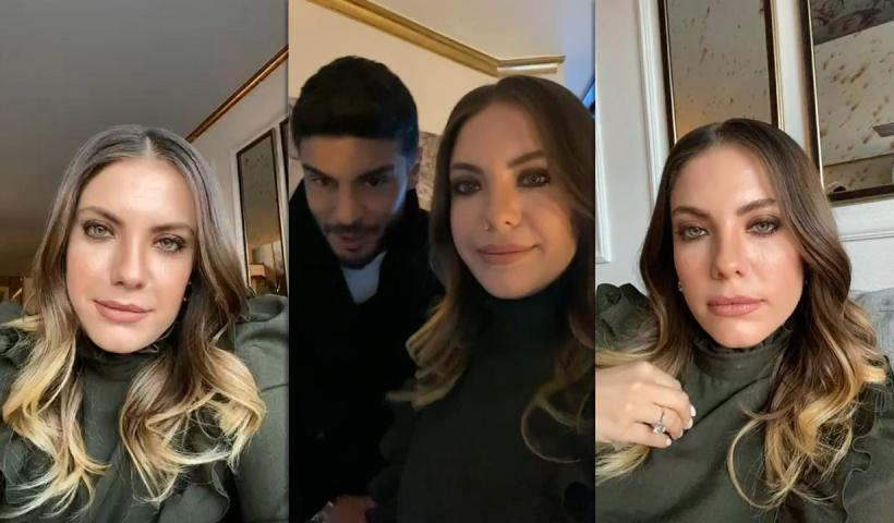 Eda Ece's Instagram Live Stream from February 21th 2021.
