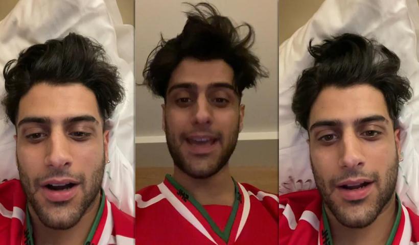 Yusuf Aktaş aka Reynmen's Instagram Live Stream from April 6th 2021.