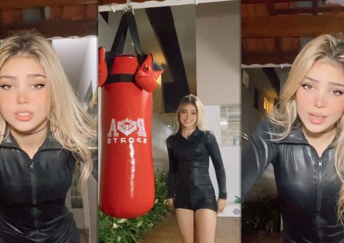 Gabriella Abreu Severino aka Mc Melody's Instagram Live Stream from May 8th 2021.