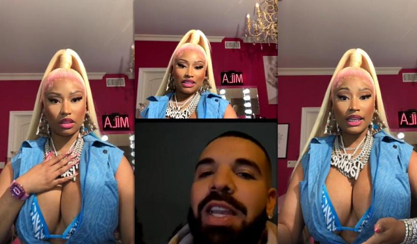 Nicki Minaj's Instagram Live Stream with Drake from May 13th 2021.
