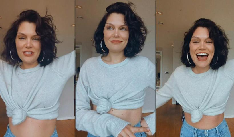 Jessie J's Instagram Live Stream from June 30th 2021.