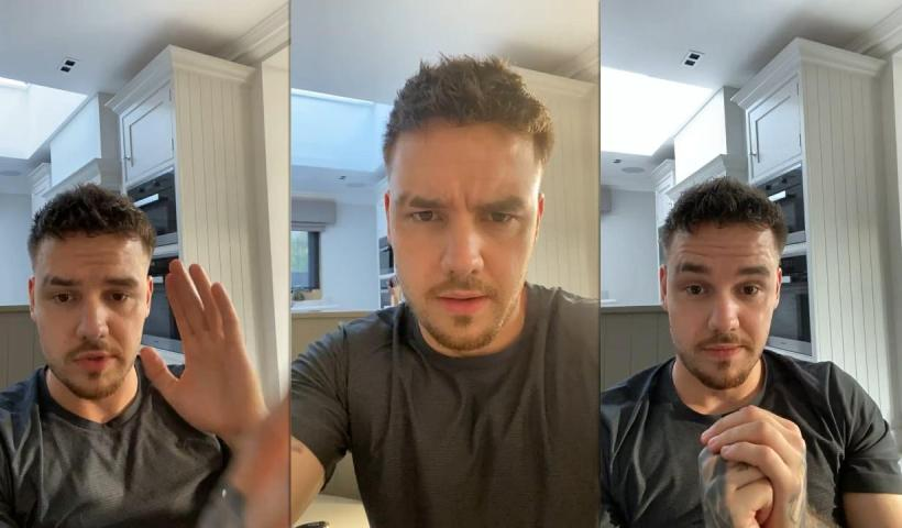 Liam Payne's Instagram Live Stream from June 11th 2021.