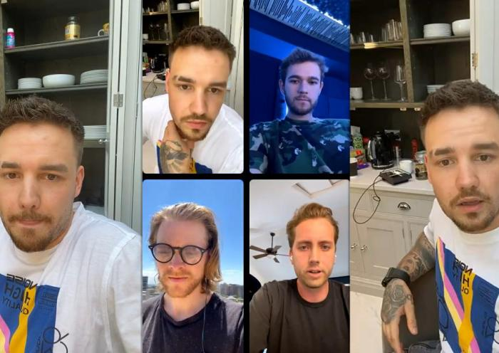 Liam Payne's Instagram Live Stream from June 15th 2021.