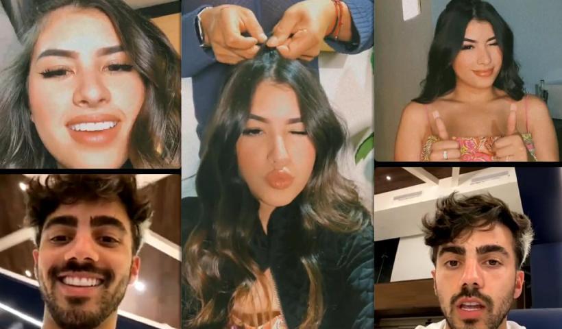 Nicole García's Instagram Live Stream from June 16th 2021.