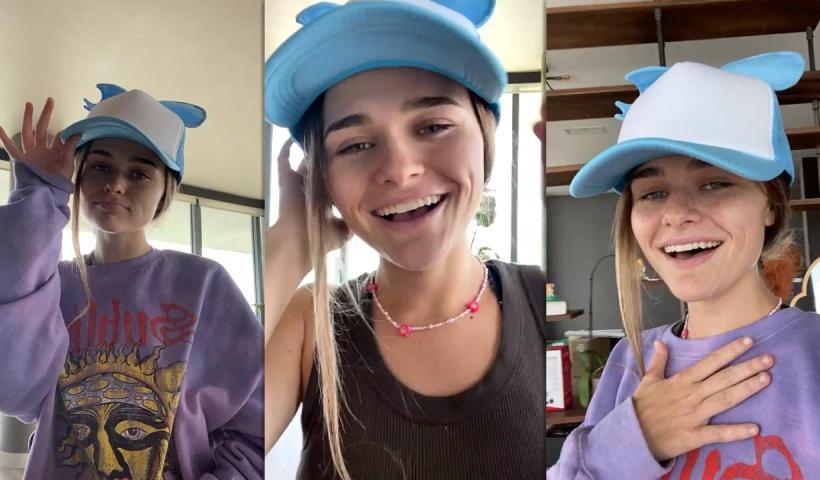 Megan Guthrie aka megnutt02's Instagram Live Stream from August 5th 2021.