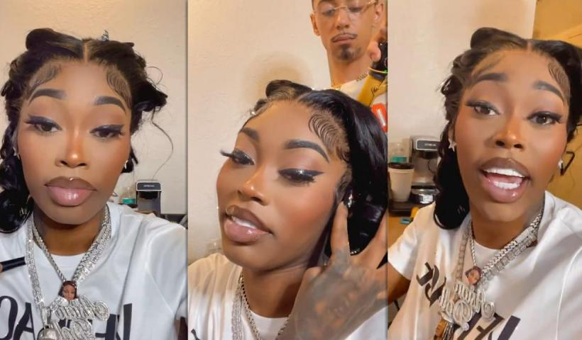 Asian Doll's Instagram Live Stream from October 2nd 2021.