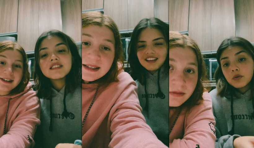 Stefany Vaz's Instagram Live Stream with Giulia Garcia from October 17th 2021.