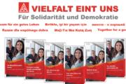 IG Metall - Gemeinsam für ein gutes Leben. Info-Broschüre in 6 Sprachen