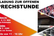 Medebach-Hesborn: Offenes Büro der IG Metall - Wir beantworten Eure Fragen