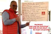 """Solidarität aus Gelsenkirchen: """"Kämpft für eure Rechte und einen guten und fairen Tarifvertrag!"""""""