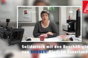 Solidarisch mit den Beschäftigten von Borbet: Kludi im Sauerland